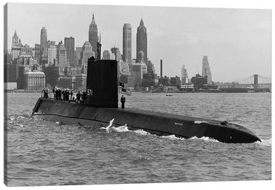 USS Nautilus (SSN-571) Canvas Art Print