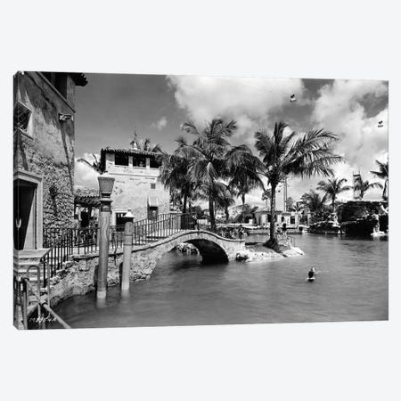 Venetian Pool, Coral Gables, October 15, 1924 Canvas Print #BMN11180} by American Photographer Canvas Print