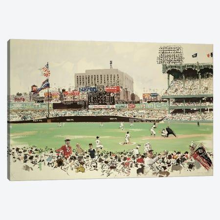 Yankee Stadium, New York Canvas Print #BMN11200} by American School Canvas Art