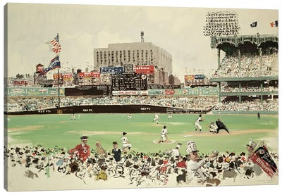 Yankee Stadium, New York Canvas Art Print