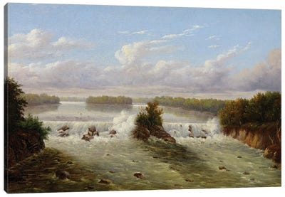 The Falls Of St. Anthony, 1848 Canvas Art Print