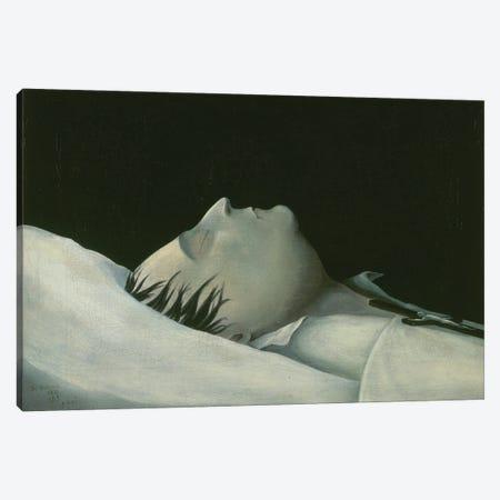 Napoleon On His Deathbed On St. Helena, 1821 Canvas Print #BMN11219} by Denzil O. Ibbetson Canvas Art Print