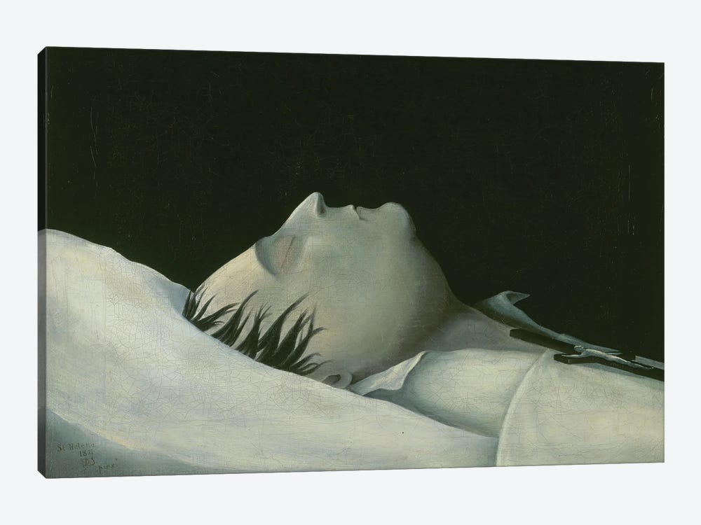 Napoleon On His Deathbed On St. Helena, 1821 by Denzil O. Ibbetson 1-piece Art Print