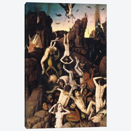 Hell Canvas Print #BMN11224} by Dirck Bouts Art Print