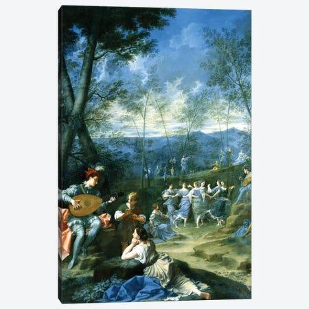 Dance Of The Nymphs, c.1725 Canvas Print #BMN11229} by Donato Creti Canvas Artwork