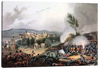 Battle of Vittoria, 21st June, 1813 Canvas Art Print