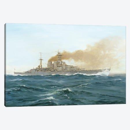 HMS Hood, 1919 Canvas Print #BMN11235} by Duff Tollemache Canvas Wall Art