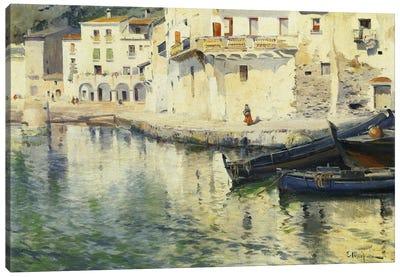The Port Of Cadaques Canvas Art Print