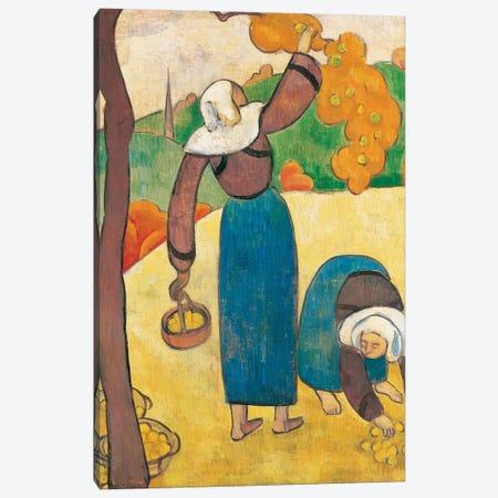 Breton Peasants, c.1889 Canvas Print #BMN11253} by Emile Bernard Canvas Print