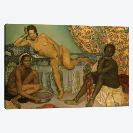 Harem Canvas Print #BMN11254} by Emile Bernard Canvas Artwork