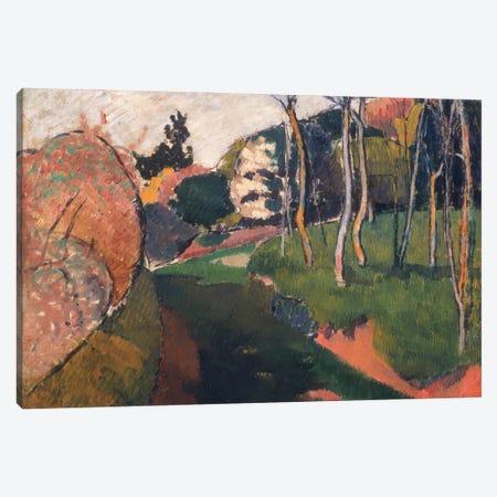 Landscape, Saint-Briac, 1889 Canvas Print #BMN11255} by Emile Bernard Canvas Wall Art