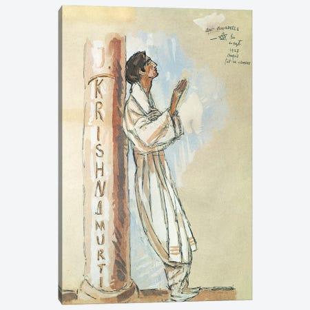 Krishnamurti, 1927 Canvas Print #BMN11260} by Emile-Antoine Bourdelle Canvas Art
