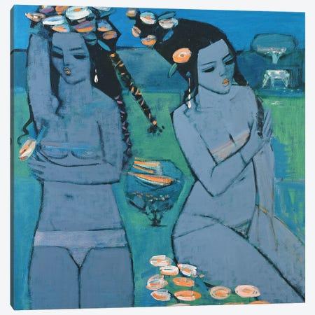 Evening, 1994 Canvas Print #BMN11262} by Endre Roder Canvas Artwork