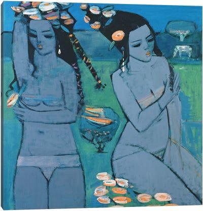 Evening, 1994 Canvas Art Print