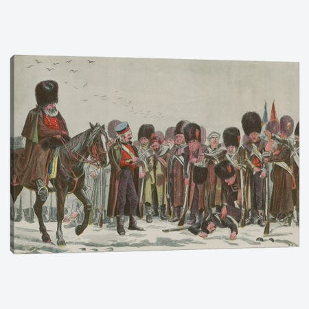 The Roll Call (Illustration From Truth), Christmas Edition, December 25, 1892 Canvas Print #BMN11281} by English School Canvas Wall Art