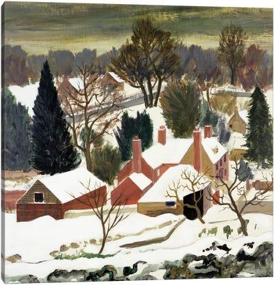 First Fall, Kent Canvas Art Print