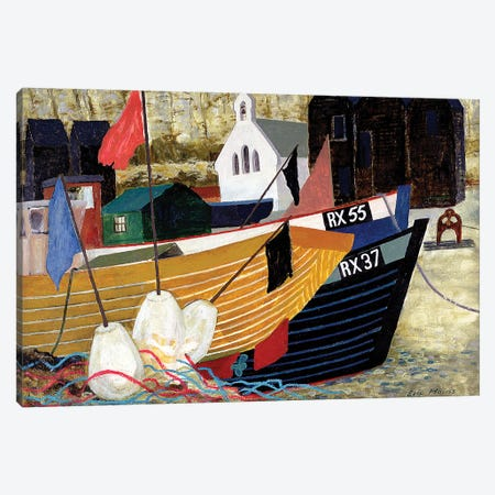 Hastings Remembered Canvas Print #BMN11289} by Eric Hains Canvas Wall Art