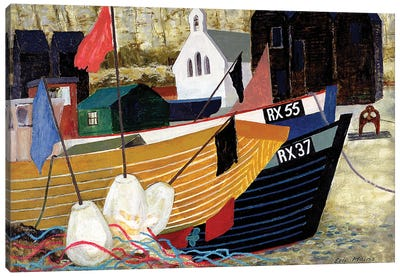 Hastings Remembered Canvas Art Print