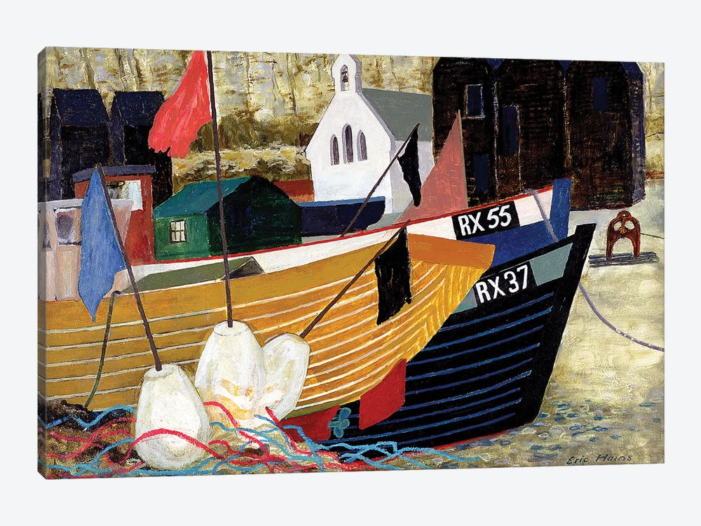 Hastings Remembered by Eric Hains 1-piece Canvas Artwork