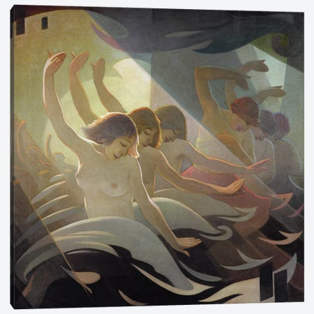 Dance Rhythm, 1920 Canvas Print #BMN11294} by Eric Harald Macbeth Robertson Canvas Art