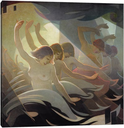 Dance Rhythm, 1920 Canvas Art Print