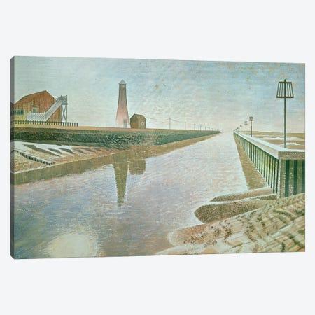 Rye Harbour, 1938 Canvas Print #BMN11295} by Eric Ravilious Canvas Artwork