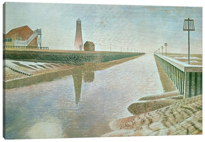 Rye Harbour, 1938 Canvas Art Print