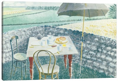 Tea At Furlongs Canvas Art Print