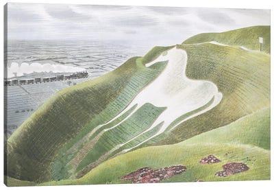 The Westbury Horse Canvas Art Print