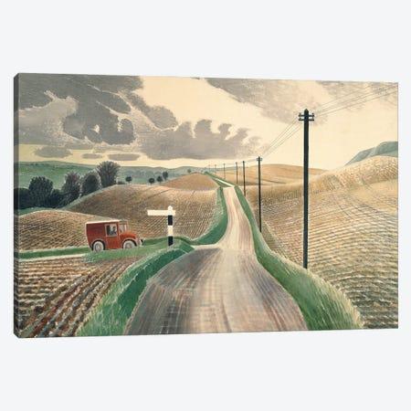 Wiltshire Landscape, 1937 Canvas Print #BMN11298} by Eric Ravilious Art Print
