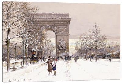 L' Arc de Triomphe Canvas Art Print