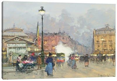 Place de l'Opera, Paris Canvas Art Print
