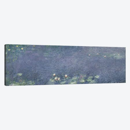 Waterlilies: Morning, 1914-18  Canvas Print #BMN1131} by Claude Monet Canvas Artwork