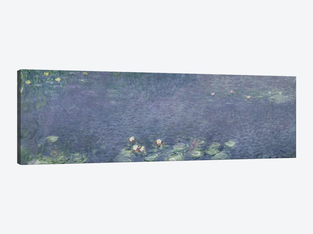 Waterlilies: Morning, 1914-18  by Claude Monet 1-piece Canvas Wall Art