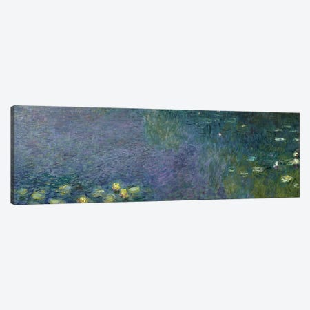 Waterlilies: Morning, 1914-18  Canvas Print #BMN1132} by Claude Monet Canvas Art