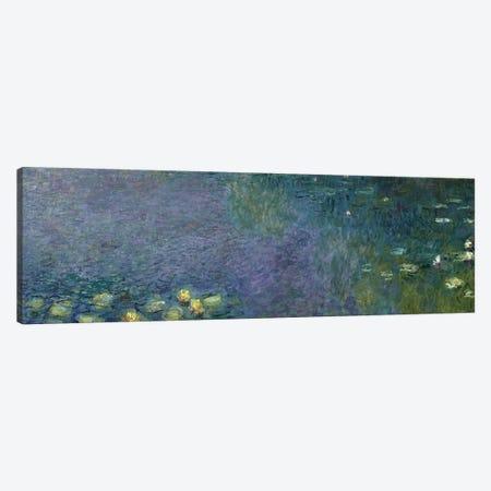 Waterlilies: Morning, 1914-18  Canvas Print #BMN1132} by Claude Monet Canvas Art