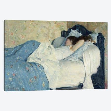 In Bed Canvas Print #BMN11348} by Federigo Zandomeneghi Art Print