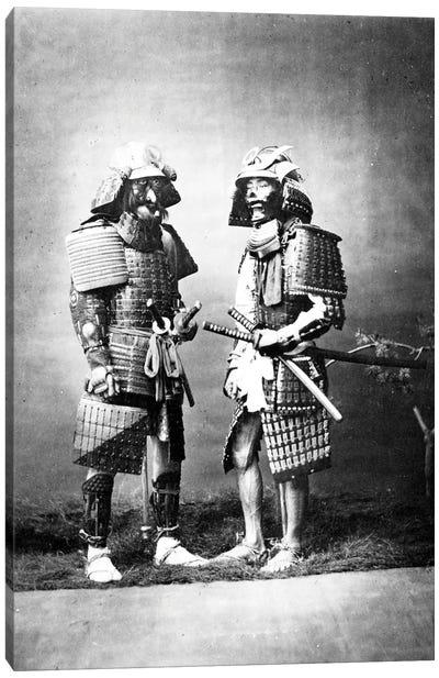 Samurai, c.1860-80 Canvas Art Print