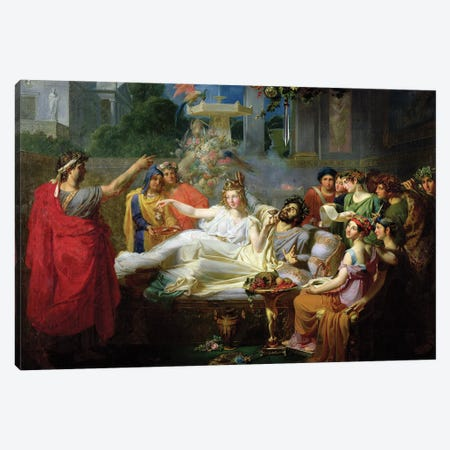 The Sword Of Damocles Canvas Print #BMN11352} by Felix Auvray Canvas Wall Art