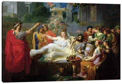 The Sword Of Damocles Canvas Art Print