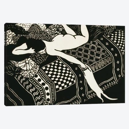 Laziness, 1896 Canvas Print #BMN11358} by Felix Edouard Vallotton Canvas Artwork