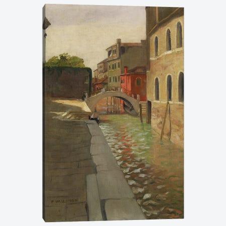 Rio della Salute, Venice, c.1902 Canvas Print #BMN11361} by Felix Edouard Vallotton Art Print