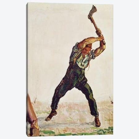 The Woodman, 1910 Canvas Print #BMN11372} by Ferdinand Hodler Canvas Art