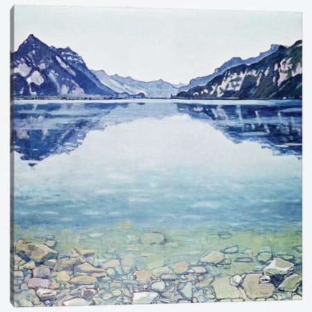 Thunersee von Leissigen Canvas Print #BMN11373} by Ferdinand Hodler Canvas Wall Art