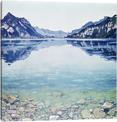 Thunersee von Leissigen Canvas Art Print