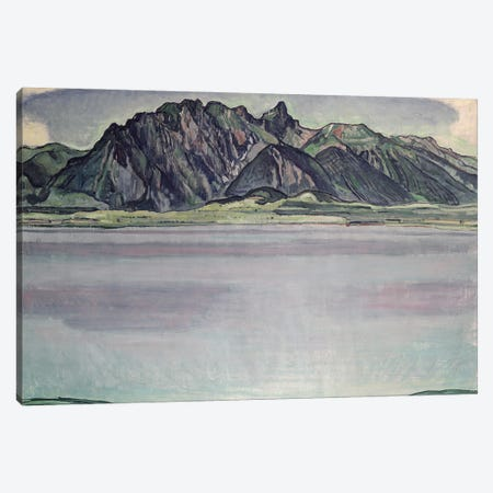 Thunersee With The Stockhorn Mountains II, 1910 Canvas Print #BMN11375} by Ferdinand Hodler Canvas Art Print