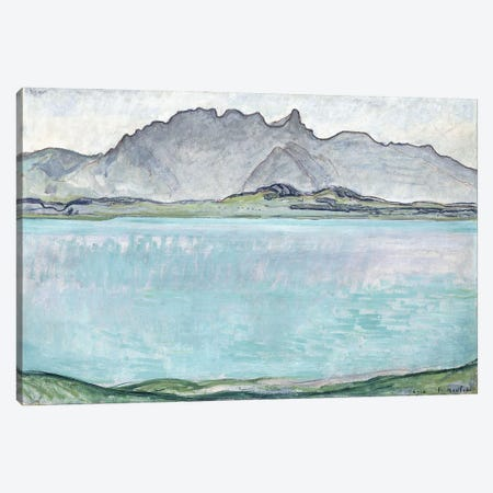 Thunersee With The Stockhorn Mountains, 1910 Canvas Print #BMN11376} by Ferdinand Hodler Canvas Print