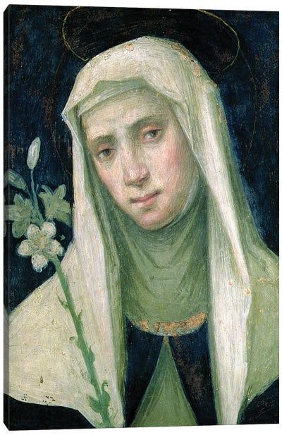St. Catherine Of Siena Canvas Art Print