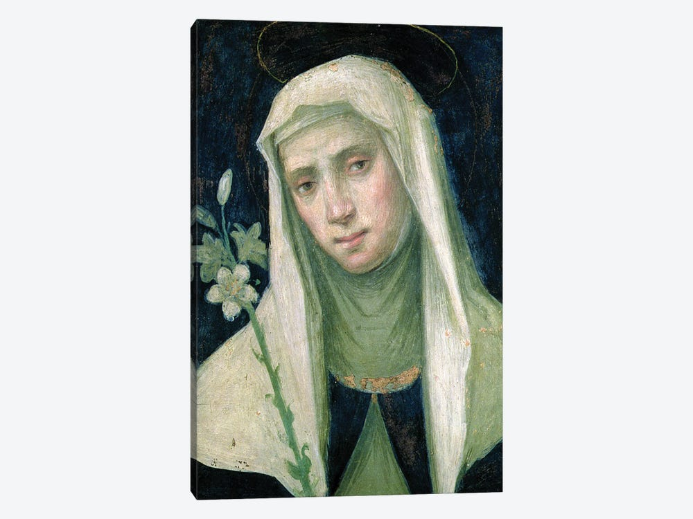 St. Catherine Of Siena by Fra Bartolommeo 1-piece Canvas Print