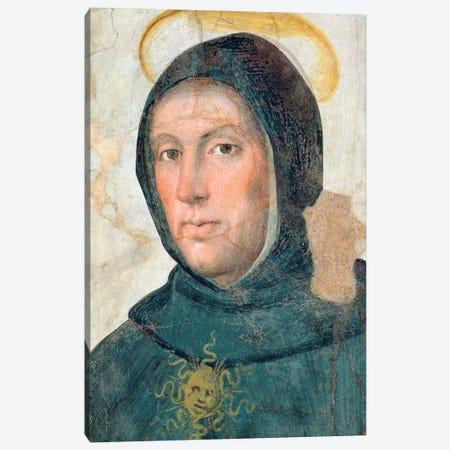 St. Thomas Aquinas Canvas Print #BMN11379} by Fra Bartolommeo Canvas Wall Art